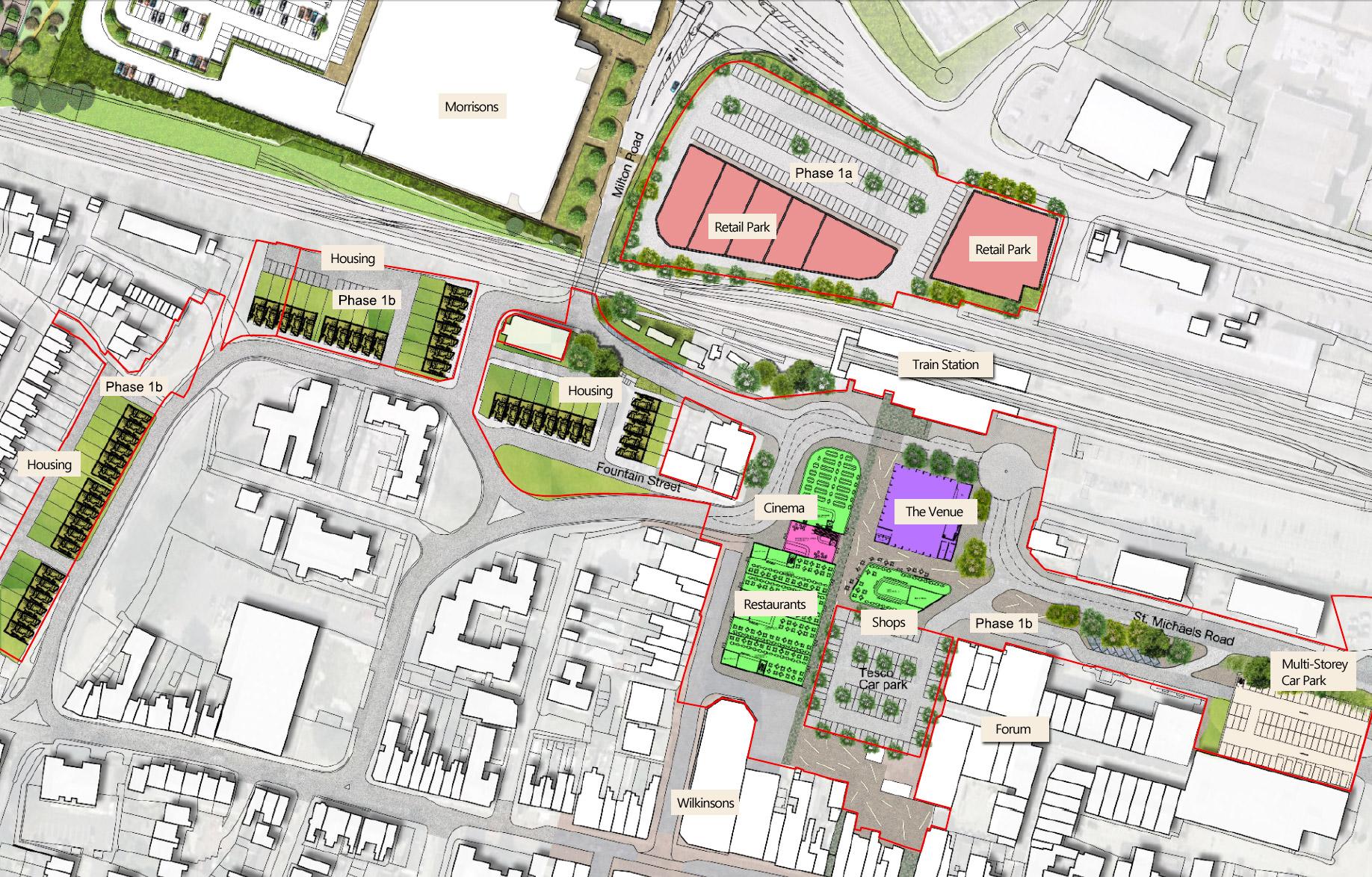Sittingbourne Town Centre Plans