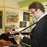 Steve Harding and Monty Davis
