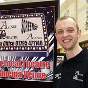 Garth Spann from the Avenue Theatre