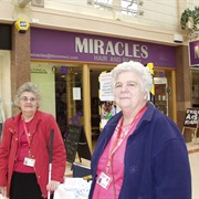 Doreen Goodwin and Anne Caveney of KAB Sittingbourne Blind Fellowship