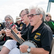 Abbey Ukulele Players