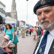 Royal British Legion member Arthur Creed