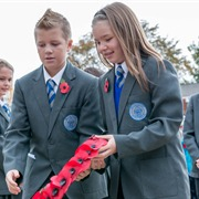 Memorial Service at Sittingbourne Cenotaph