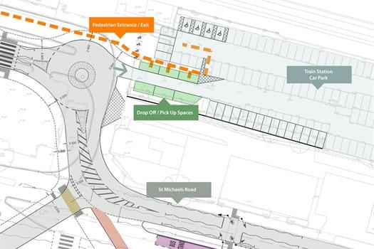 train station car plans released. Black Bedroom Furniture Sets. Home Design Ideas