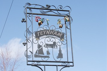 Teynham Village Sign