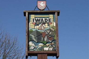 Iwade Village Sign