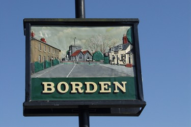 Borden Village Sign